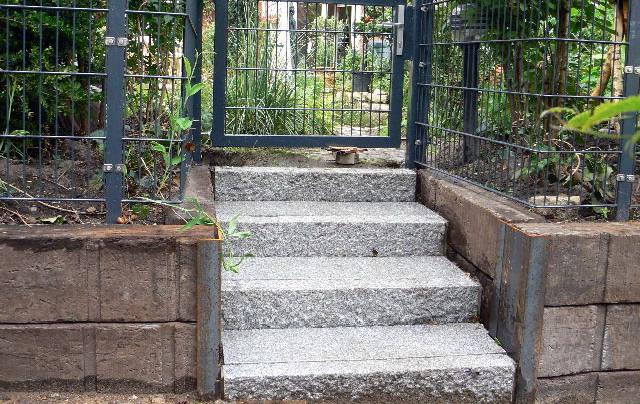 Treppenstufen Holz Unbehandelt ~   unbehandelt, nicht vollkantig Wasserbau Holz Pilz u