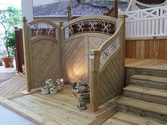 sichtschutzzaun holz restposten. Black Bedroom Furniture Sets. Home Design Ideas