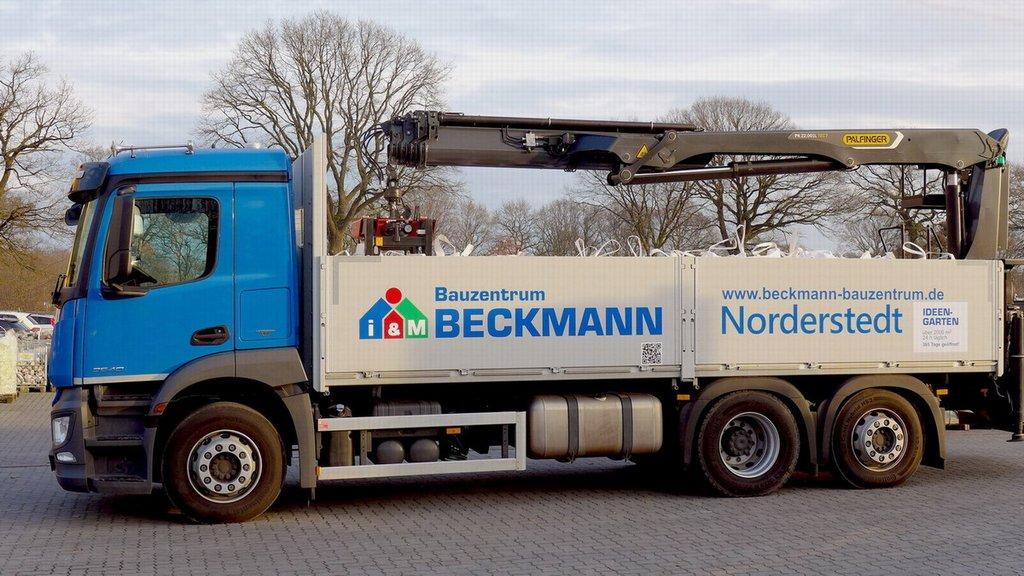 Lieferservice Baustoffe Hamburg