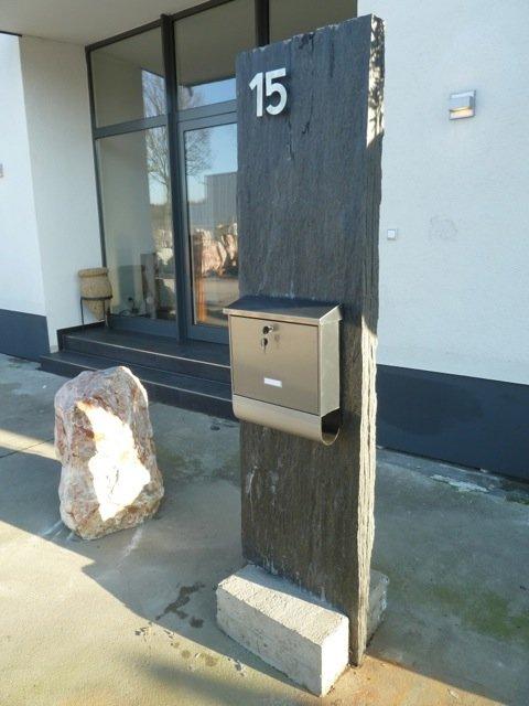 bauzentrum beckmann schiefer sandstein sichtschutz platten. Black Bedroom Furniture Sets. Home Design Ideas