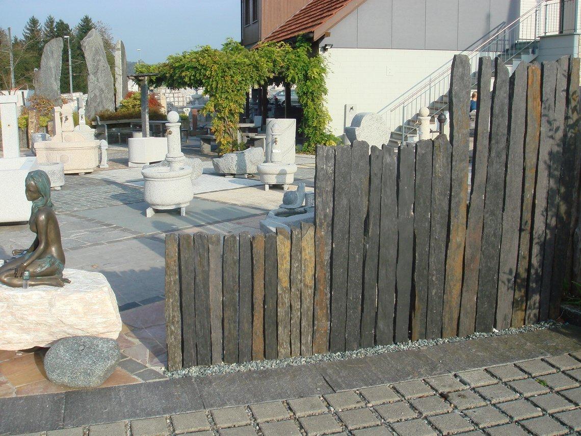 Bauzentrum Beckmann Naturstein Sichtschutzplatten